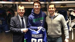 A grand French player at the Vancouver Canucks