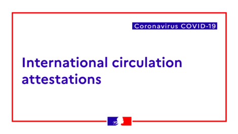 Coronavirus: Restrictions on entering Metropolitan France and its (...)