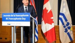 B.C. Francophonie Day celebration at the Legislative Assembly (March (...)