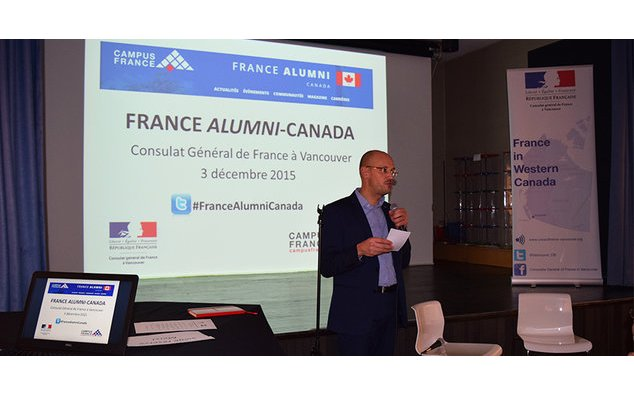 Launching of the Alumni platform at the French Alliance in Vancouver